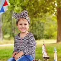 Маленькая улыбашка Алиночка :: Алёна Жила