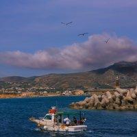 рыбаки .греция :: юрий макаров