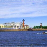 Санкт-Петербург,стрелка ВО :: Татьяна Осипова(Deni2048)