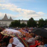 на концерте в Тобольском кремле :: Юлия Бывальцева