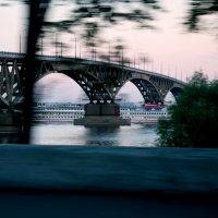 мост Саратов-Энгельс :: Оксана Полякова