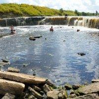 На реке Саблинка (этюд 2) :: Константин Жирнов
