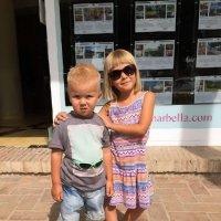 Брат и сестра :: Марианна Хилова