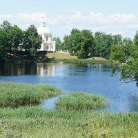 Прекрасный вид на Нижний пруд и Большой Меншиковский дворец :: Елена Павлова (Смолова)