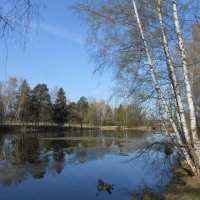 Пейзаж1 :: Настасья Мерчуткина-Щукина