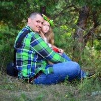 Папа и дoчка :: Павел Генов