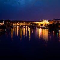 Вид на  Манесов мост :: Eugene *