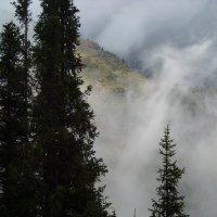 Седые пряди гор :: Андрей Солан