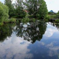 Деревенские пейзажи :: Татьяна Ломтева