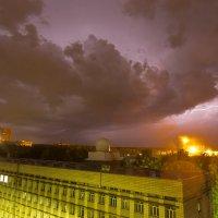 Гроза над НГУ :: Дмитрий Николаев