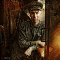 Портрет помощника машиниста паровоза :: Виктор Перякин