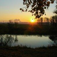 Вечер над рекой :: Ирина Пирогова