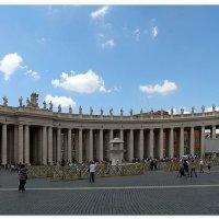 Рим, площадь Святого Петра :: Наталья (Nata-Cygan) Цыганова