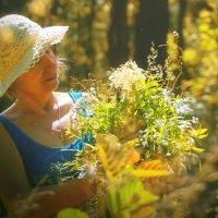 Мама с лесным букетом.)) :: Ирэна Мазакина