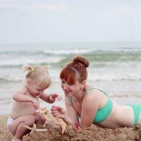 Игры на пляже :: Алена Горб