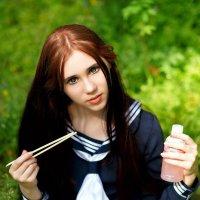 Японская школьница :: Anton Megofoto
