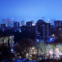 город в ночи :: Андрей Качин