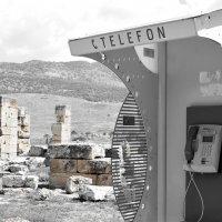 Телефонная будка в античном городе :: Эрик Делиев
