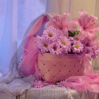 Розовые мечты... :: Валентина Колова