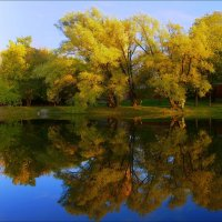 Осенние отражения :: Igor Khmelev