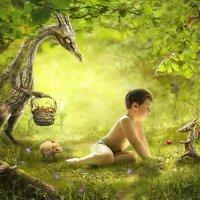 Древесные драконы, обожающие землянику ) :: Наталья
