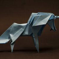 Оригами единорог :: Богдан Петренко