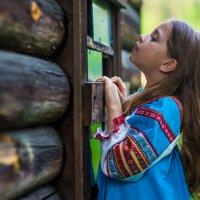 Барышня-крестьянка :: Galina Zabruskova