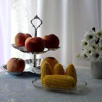 С кукурузой :: Наталия Лыкова