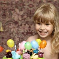 День рождения. 4 года :: Нелли Вытришко