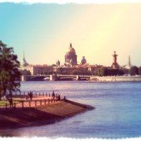 Река Нева неотделима от своего города Санкт-Петербурга, это одно целое. :: Юлия Шабалдина
