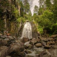 Водопад Корбу(Телецкое озеро) :: Жанна Мальцева