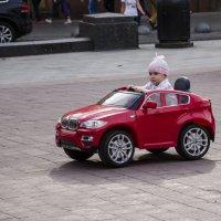 Маленький водитель..) :: Алина Кожемяко