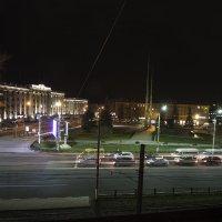 Площадь Победы ночью. :: Бронислав Богачевский