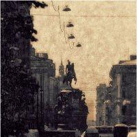Ускользающий город_Исаакиевская площадь :: Станислав Лебединский