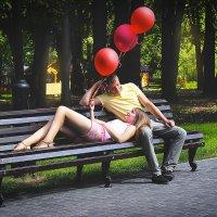 Романтика в парке :: Nastas'ya Postnikova