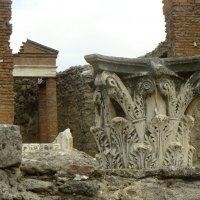 Помпеи, разрушенные колонны :: Lüdmila Bosova (infra-sound)