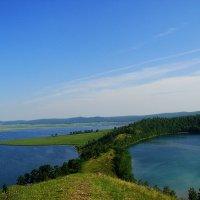 озеро Круглое и озеро Малое. Красноярский край. :: djangalina *