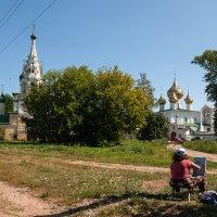 летний день в Угличе :: Galina