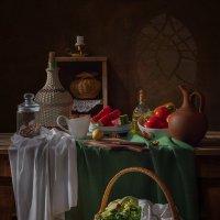 С арбузом и овощами :: Светлана Л.