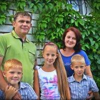 Счастливая семья :: Дарья Рябкова