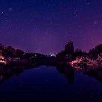 Ночь над рекой :: Александр Мартовецкий