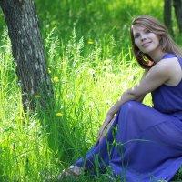 В солнечных травах :: Анна V