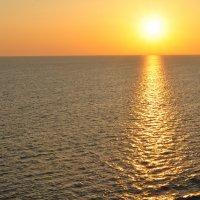 Закат над Балтийским морем :: Ольга Бирская