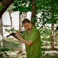 Ноктюрн в зелёных тонах. :: Андрей Печерский