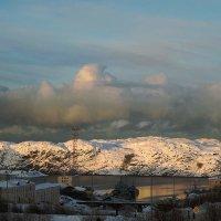 Облака над Екатерининским :: Роман Маркин