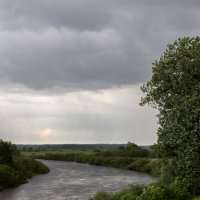 дождь над Неманом :: Natali Pidenko