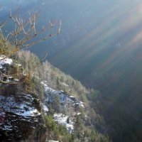 Луч света в горах :: Николай Kлеменюк
