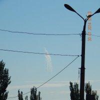 Фосфорный фейерверк над Донбассом! :: Максим Есменов