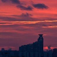 Багровые небеса :: BoriSav Sav