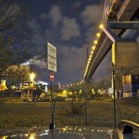 Ночной порт Гамбурга :: Сергей Бордюков
